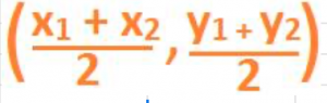 the formula for finding the coordinates
