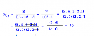 binomial coefficients determined by formula