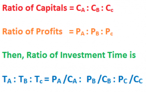 ratio of investment time