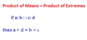 product of means