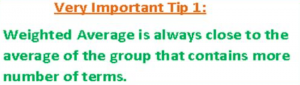 weighted average tip 1
